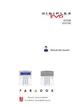 EVO48 EVO192 Manual del Usuario
