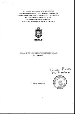 """G"""" - División de Secretaría (Unefa Zulia)"""