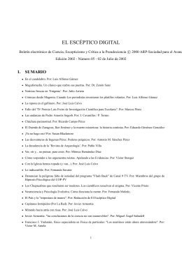 EL ESCÉPTICO DIGITAL