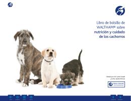 Libro de bolsillo de WALTHAM® sobre nutrición y cuidado de los