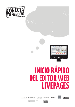 manual editor web conecta tu negocio