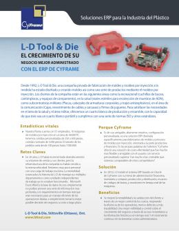 LD Tool & Die EL CRECIMIENTO DE SU