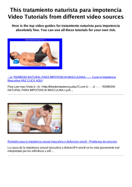 #Z tratamiento naturista para impotencia PDF video books