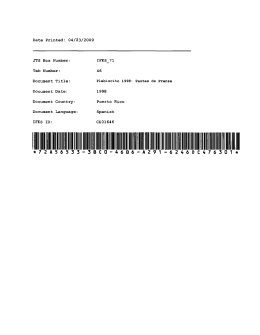 Date Printed: 04/23/2009 JTS Box Number: Tab Number