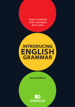 Introducing English