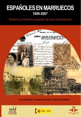 españoles en marruecos 1900-2007