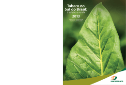 Tabaco no Sul do Brasil: