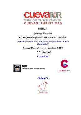 NERJA 1ª Circular - Asociación de Cuevas Turísticas Españolas