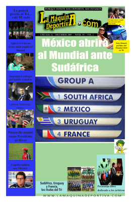 en Mundial - La Maquina Deportiva
