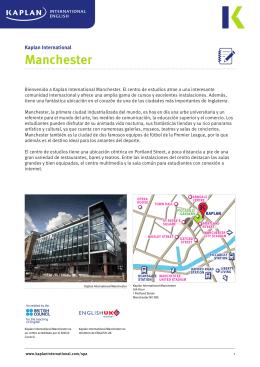 Manchester - Kaplan International English
