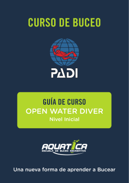 CURSO DE BUCEO - Aquatica Buceo