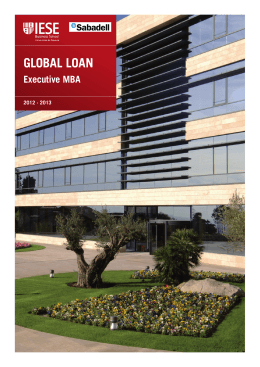 GLOBAL LOAN Executive MBA