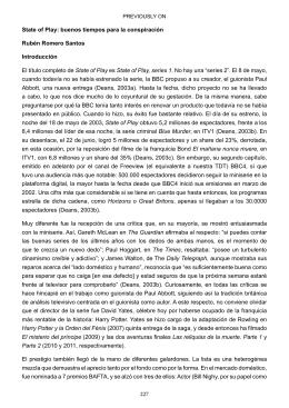 227 State of Play: buenos tiempos para la conspiración Rubén