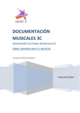 DOCUMENTACION MUSICALES 3C- DOSIER1-MAMMA MIA!