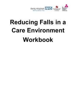Reducing Falls in a Care Environment Workbook