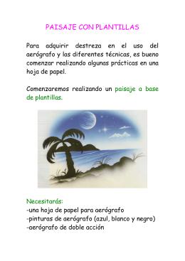 PRÁCTICA 8: Paisaje con plantillas
