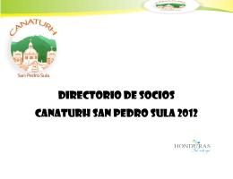Directorios - Bienvenido a San Pedro Sula
