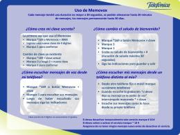 Memovox - Movistar