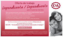 Dependienta / Dependiente - c-and