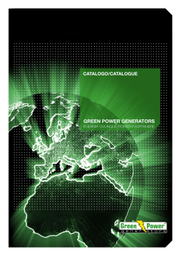 GREEN POWER GENERATORS
