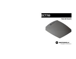 Manual de Motorola DCT700