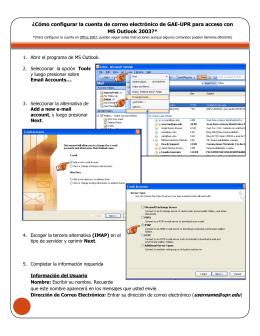 ¿Cómo configurar la cuenta de correo electrónico de GAE