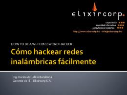 Cómo hackear redes inalámbricas fácilmente