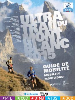 Descarga la Guía de Movilidad - Ultra-Trail du Mont