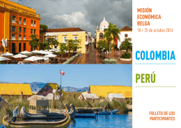 COLOMBIA PERÚ