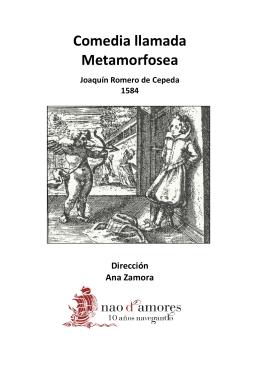 Comedia llamada Metamorfosea