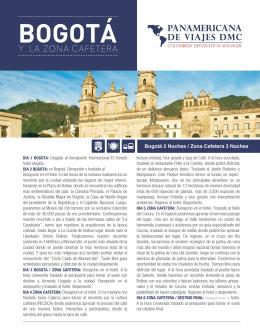 BOGOTÁ - Panamericana de Viajes