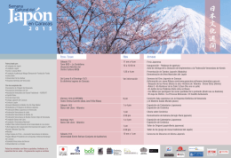 Semana Cultural del Japón en Caracas 2015