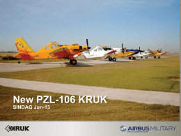 New PZL-106 KRUK - Congresso SINDAG