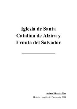 Iglesia de Santa Catalina de Alzira y la Ermita del Salvador