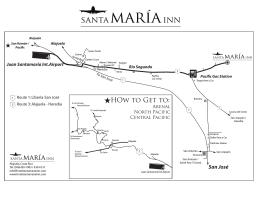 mapaAlrededor Hotel - Hotel Santa Maria Inn