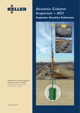 Acoustic Column Inspector