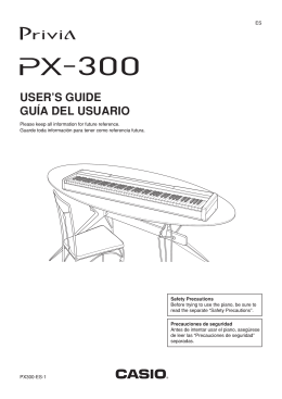 PX300 - Support