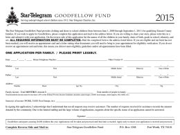 The GoodFellow Fund