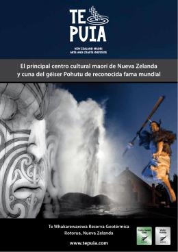 El principal centro cultural maorí de Nueva Zelanda y cuna