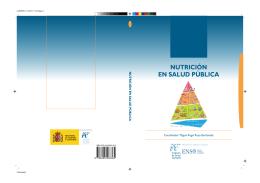 NUTRICIÓN EN SALUD PÚBLICA - Instituto de Salud Carlos III