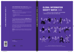 the full report - Global Information Society Watch