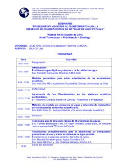 SEMINARIO Viernes 08 de Agosto de 2014, Hotel Torremayor