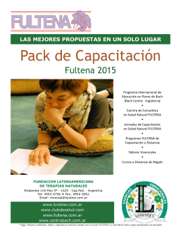 Obtenga el Pack - Esencias Vibracionales Londner´s