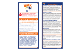 Instrucciones  - Walk Fit Orthotics