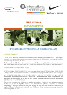 nike sport camps - international EXPERIENCE