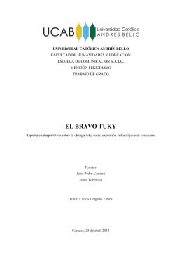 EL BRAVO TUKY - Libros, Revistas y Tesis