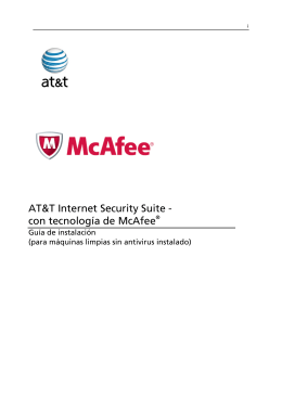 AT&T Internet Security Suite