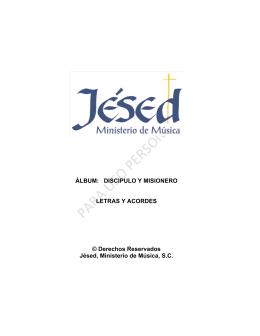 Descargar PDF - Jesed Ministerio de Música Católica