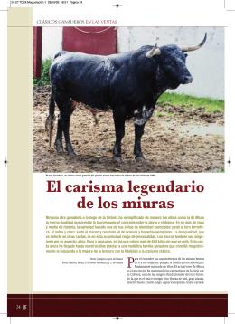 Clásicos ganaderos en Las Ventas: Miura