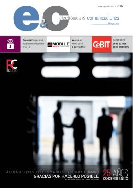 Abrir - Electrónica & Comunicaciones Magazine